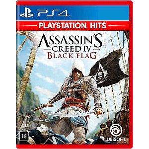 Jogo Assassins Creed IV: Black Flag PS4 (Versão em Português)