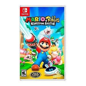 Jogo Mario + Rabbids Kingdom Battle - Nintendo Switch