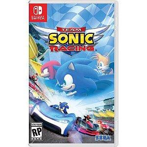 Jogo Team Sonic Racing -  Nintendo Switch