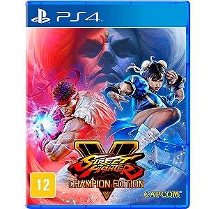 Jogo Street Fighter V - Edição dos Campeões - PS4