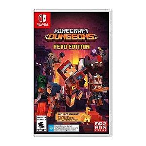 Jogo Minecraft Dungeons Hero Edition -Nintendo  Switch