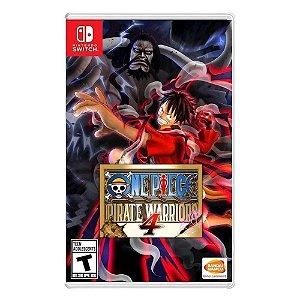 Jogo One Piece: Pirate Warriors 4 - Nintendo Switch