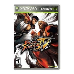 Jogo Street Fighter Iv Xbox 360 Platinum Hits