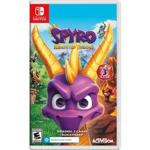 Jogo Spyro Reignited Trilogy - Nintendo Switch