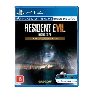 Jogo Resident Evil 7 Biohazard Gold Edition - PS4