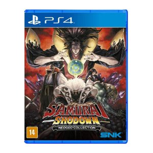 Jogo Samurai Shodown Neogeo Collection - Ps4