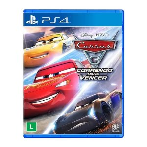 Jogo Carros 3: Correndo Para Vencer - PS4