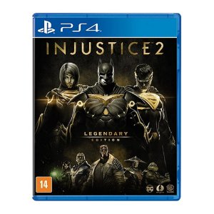 Jogo Injustice 2: Legendary Edition - PS4 (Seminovo)