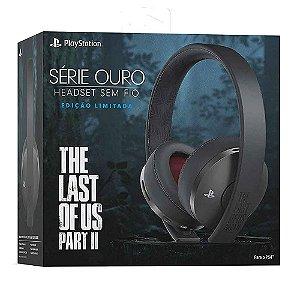 Headset Série Ouro Edição Limitada The Last of Us Part 2 Ps4