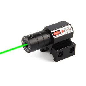 Colimador MIRA Laser VERDE Para Trilho De 11 A 20/22mm