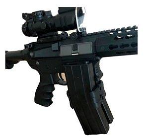 Clip Para Unir Carregadores Fuzil T4 M4 M16 Ar15 223 556 Blk