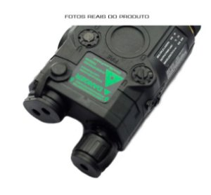 Mira Laser e Lanterna Sniper para Fuzil T4 Ar15 M4 Carabina CTT IA2 Black