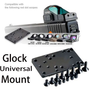 Mount Plate Base Adaptador Universal Glock Para Red Dot