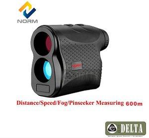 Range Finder Telemetro 600m Medidor Distância  Altura e Velocidade