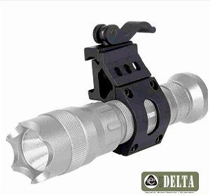 Mount 45 graus para Lanterna Engate Rapido T4 M4 Ctt Trilho 20mm