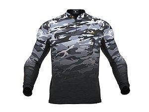 Camiseta Camuflada com Proteção Uv 30+ PresaViva 03 - Pesca / Náutica