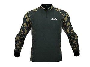 Camiseta Camuflada com Proteção Uv 30+ PresaViva 04 - Pesca / Náutica