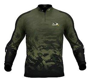 Camiseta Camuflada com Proteção Uv 30+ PresaViva 05 - Pesca / Náutica