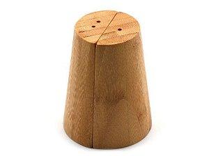 Conjunto Saleiro e Pimenteiro de Bambu 2 peças