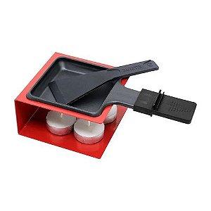 Raclete Metal 7 Pcs Vermelha - Hauskraft