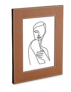 Porta Retrato 15x20 com Revestimento Sintético