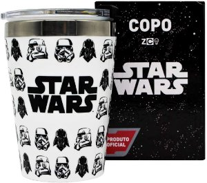 Copo Stormtroopers e Darth Vader Star Wars 300ml