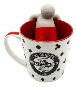 Caneca com Infusor Chá 350ml Mickey