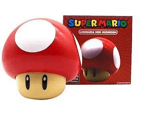 Luminária Super Mario Mini Mushroom