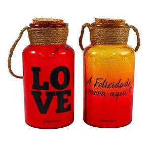 Conjunto 2 Luminárias - Felicidade Love