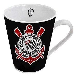 Caneca Do Corinthians Porcelana 300 Ml