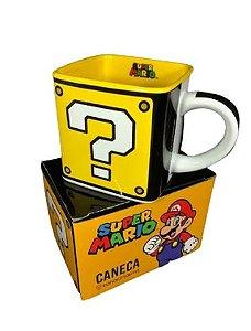 Caneca Bloco Interrogação: Super Mario Bros