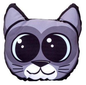 Almofada Shape Cat Love