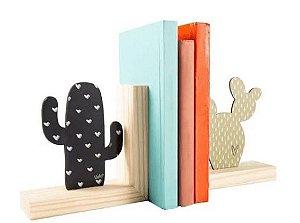 Aparador de Livros - Natural Colors Cactus