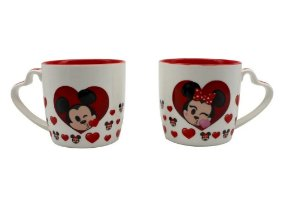 Kit 2 Canecas Mickey E Minnie