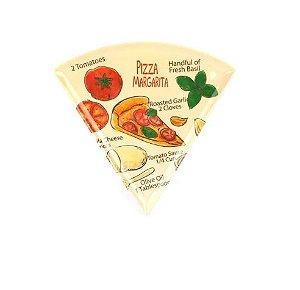 Prato de Pizza Margarita