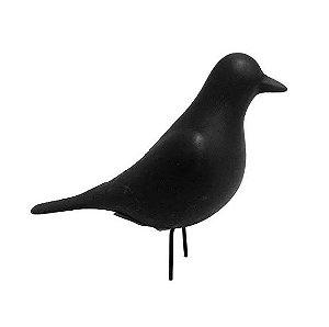 Pássaro Enfeite de Porcelana 19x13,5x6,5cm