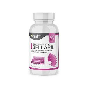 BELLAPIL - Vitamina para cabelos, pele e unhas - 60 caps