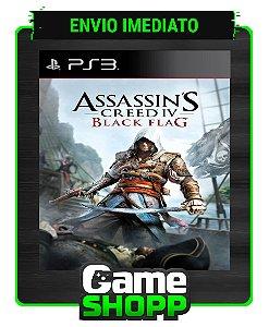 Assassins Creed Iv Black Flag  - Ps3 - Midia Digital