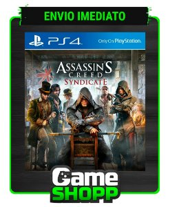 Assassins Creed Syndicate - Ps4 - Edição Padrão - Primária