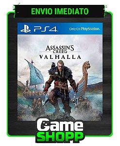 Assassins Creed Valhalla  - Ps4 - Edição Padrão - Primária