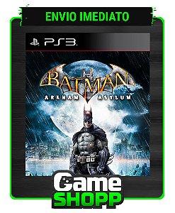 Batman Arkham Asylum - Ps3 - Midia Digital
