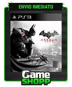 Batman Arkham City - Ps3 - Midia Digital