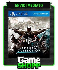 Batman: Arkham Collection  - Ps4 - Edição Definitiva - Primária