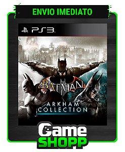 Batman Arkham Collection - Ps3 - Midia Digital
