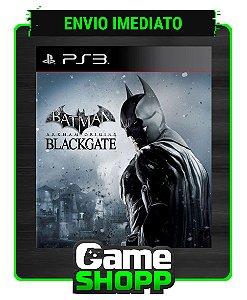 Batman: Arkham Origins Blackgate - Ps3 - Midia Digital
