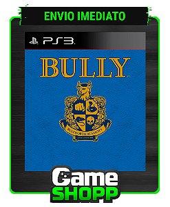 Bully - Ps3 - Midia Digital