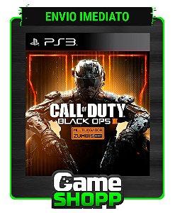 Call Of Duty Black Ops Iii - Ps3 - Midia Digital