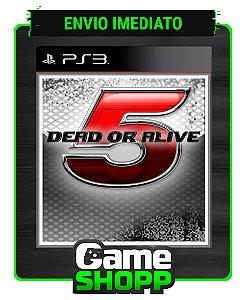 Dead Or Alive 5 - Ps3 - Midia Digital