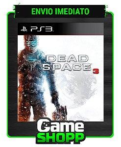 Dead Space 3 - Ps3 - Midia Digital