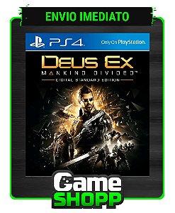 Deus Ex: Mankind Divided  - Ps4 - Edição Padrão - Primária